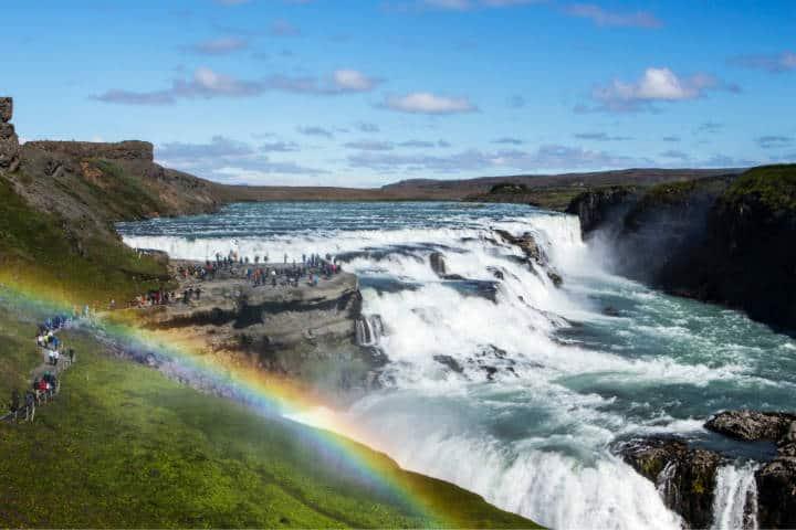 Cascadas famosas Gullfoss. Islandia. Foto. Laila Gebhard 3
