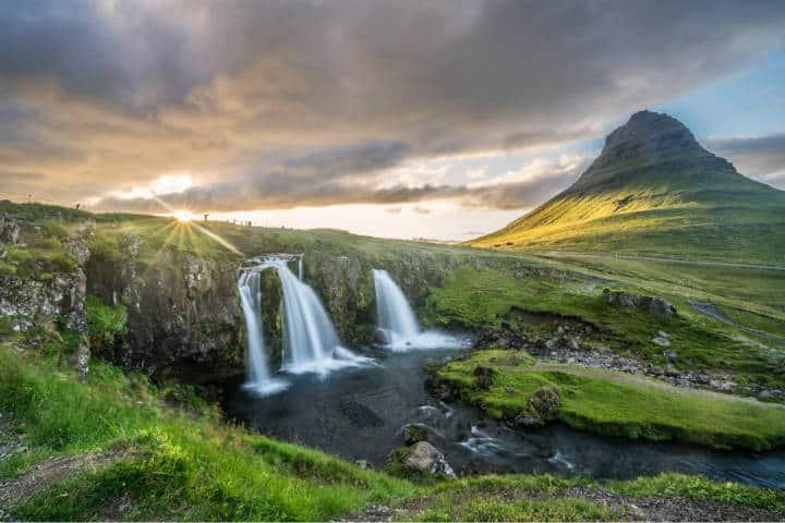 Cascadas famosas. Islandia. Foto. Luke Vodell 2
