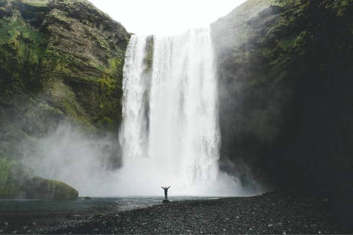 Cascadas famosas. Islandia. Foto. Rio Hodges 1