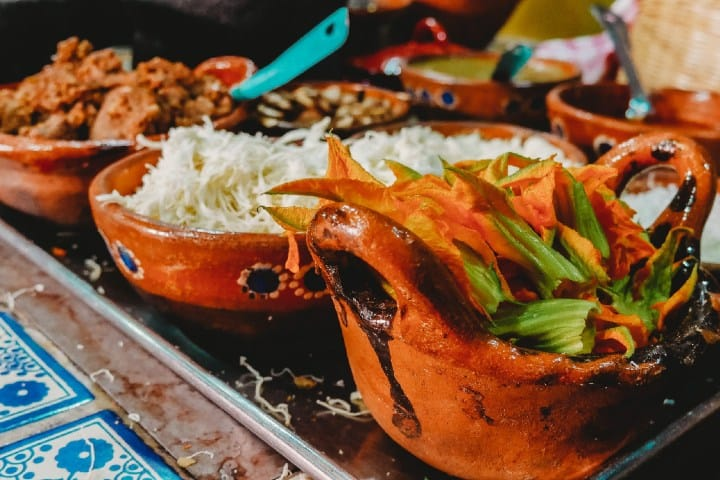 Comida Mexicana. Foto: Roberto Carlos Roman Comida típica de Oaxaca