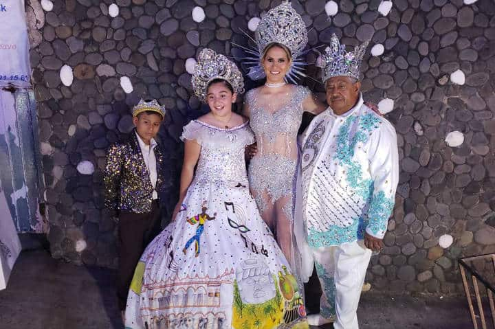 Corte Real del Carnaval de Veracruz Foto Carnaval de Veracruz 2021