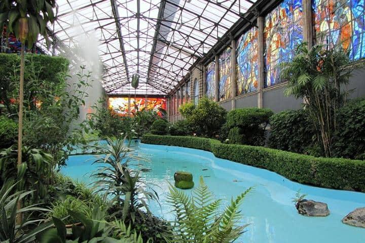 Cosmovitral Jardín Botánico. Foto: Angel Vega