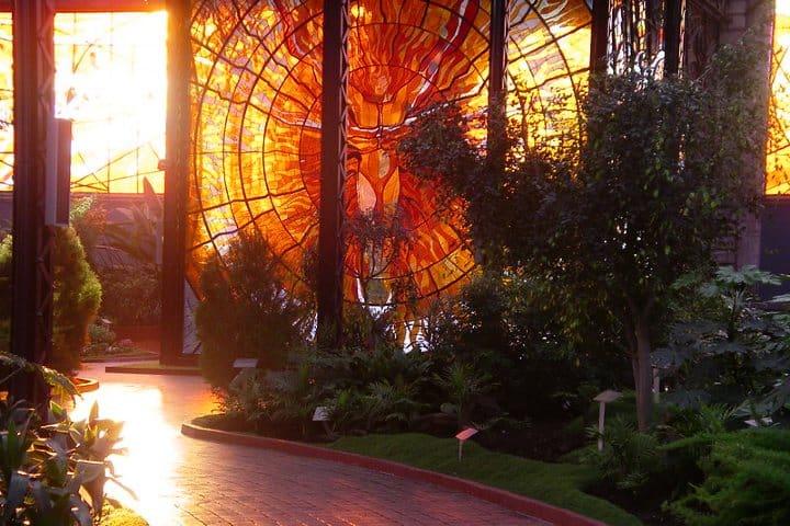 Cosmovitral Jardín Botánico. Foto: Willy M