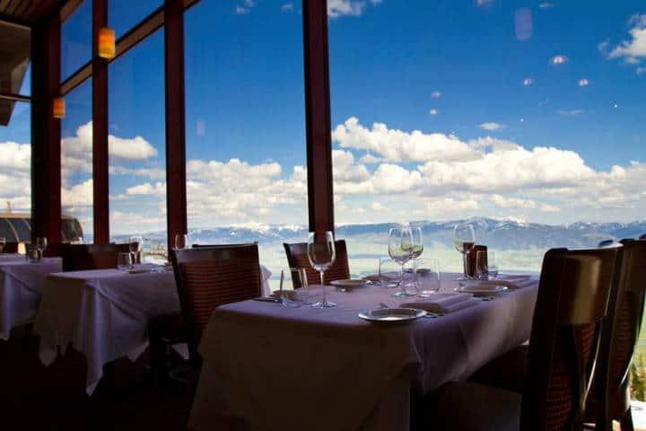 Couloir Restaurant Foto Jackson Hole MR1