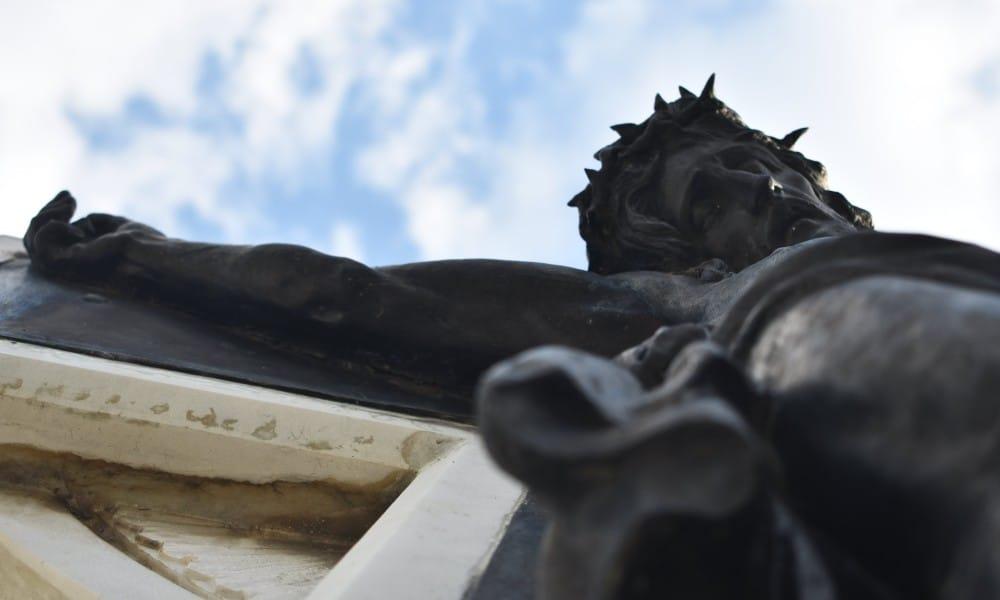 Cristo Negro. Foto: Yasmin Valencia