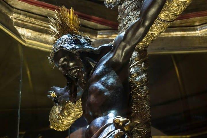 Cristo Negro. Foto: Paseo Guatemala Feria del Cristo Negro en Campeche