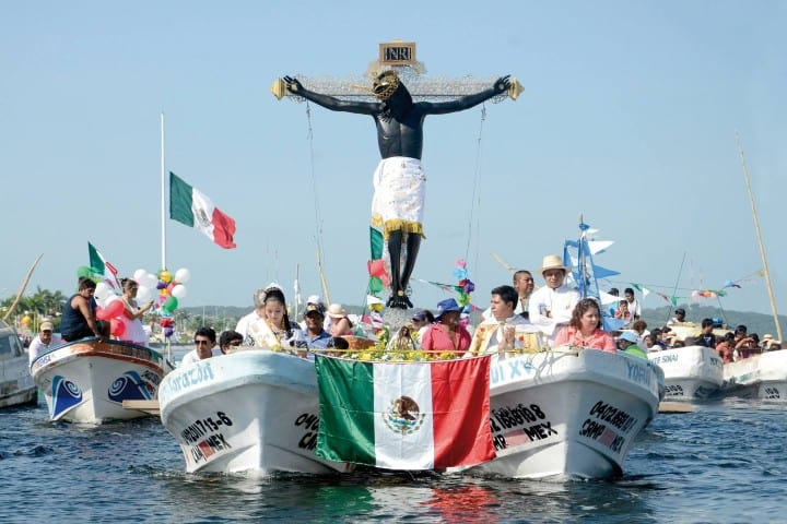Cristo Negro. Foto: Ciudades Mexicanas Patrimonio Mundial Feria del Cristo Negro en Campeche
