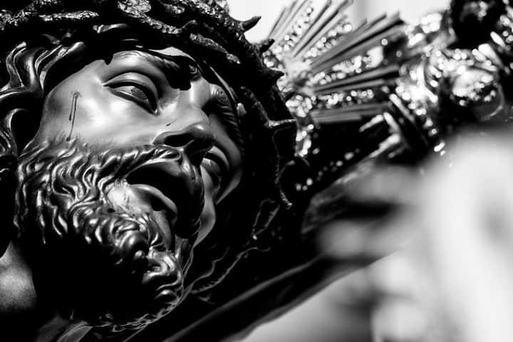 Cristo negro. Foto: Matías Brëa Feria del Cristo Negro en Campeche