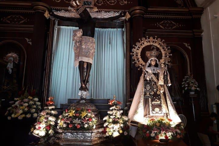 Cristo negro. Foto: Parroquia de San Román Feria del Cristo Negro en Campeche