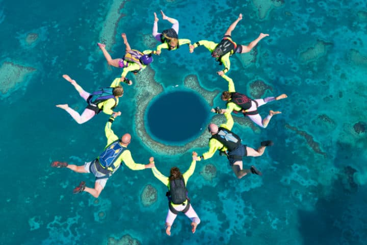 El Blue Hole de Belice es impresionante desde donde lo veas Foto EPOD – Universities Space Research Association