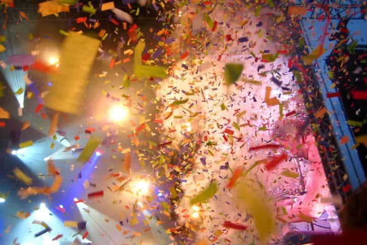 El confetti es parte fundamental del Carnaval Foto storuman
