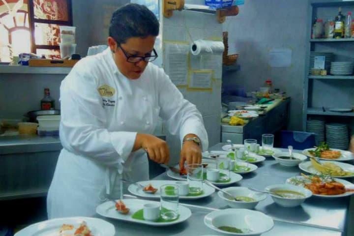 El sazón mar de la Chef Betty Vázquez seguirá siendo justificación de un viaje a San Blas Foto Archivo