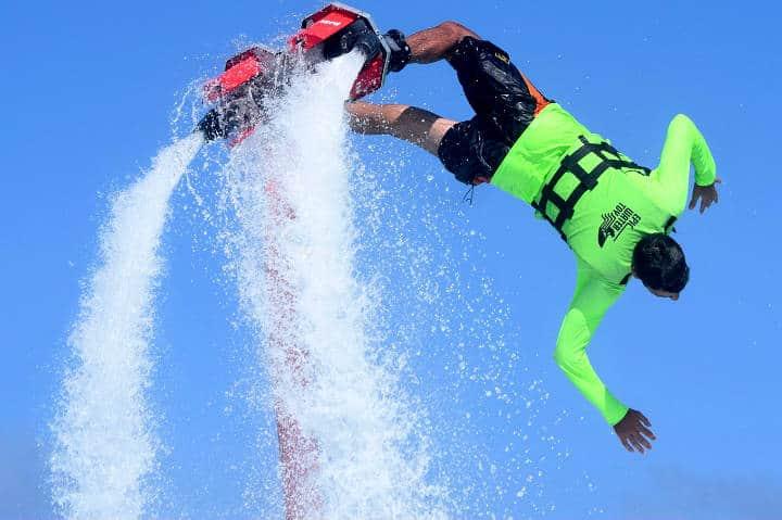Flyboard. Foto Epic Water Toys.