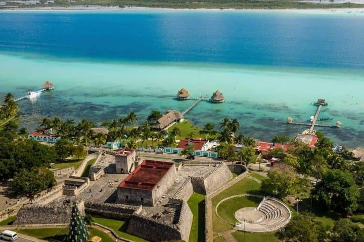 Fuerte de San Felipe Bacalar. Foto: Rock The Traveller