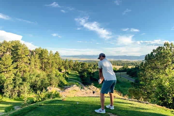 Golfista. Foto: Courtney Cook