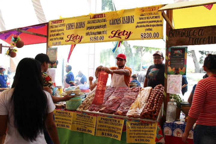 Guelaguetza Fiesta de Ofrenda. Gastronomia. Imagen: News
