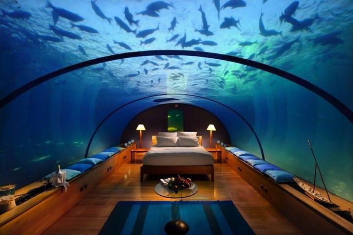 Habitación Poseidón Dubai. Foto: Muditā