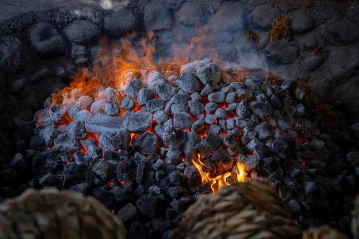 Horno cónico de piedra. Oaxaca. Somos Mezcal 5