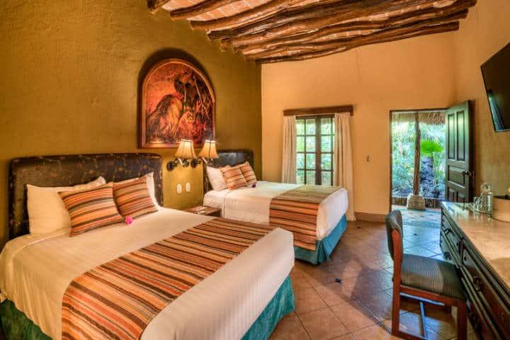Habitación Hotel Posada. Foto Hotel Posada del Hidalgo.