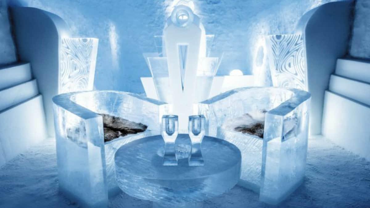 Ice Hotel. Suecia. Imagen: Interiores