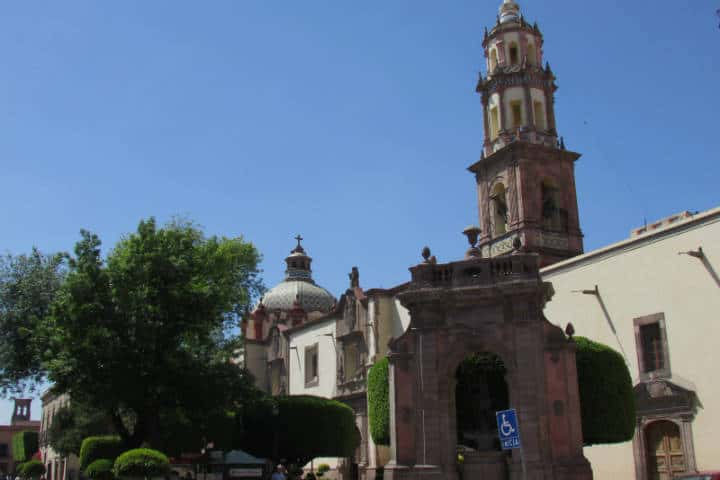 Iglesia de Santa Clara. Querétaro. Foto FanPage 8