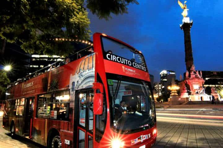Turibus nocturno en la CDMX