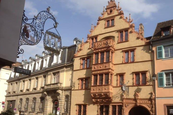 La Casa de las Cabezas Colmar. Foto: Dominique Tomasini qué hacer en Colmar Francia