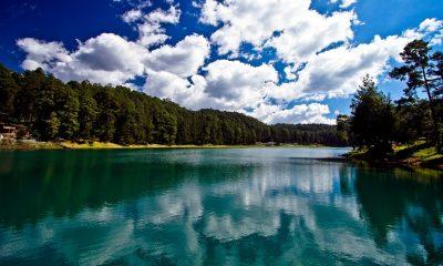 Laguna larga los Azufres. Foto: Amadeo Alvarado