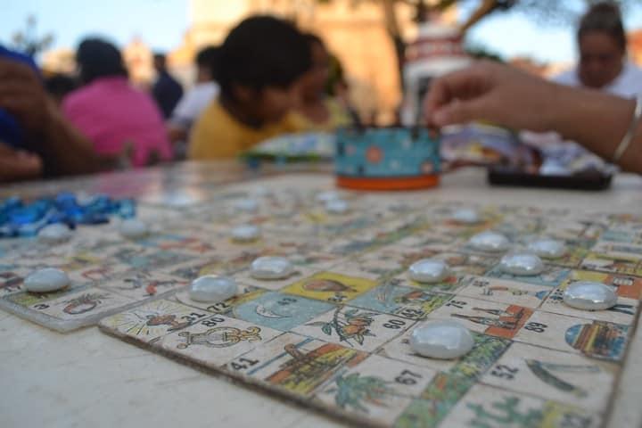 Lotería Campechana. Foto: Arely Duran Feria del Cristo Negro en Campeche