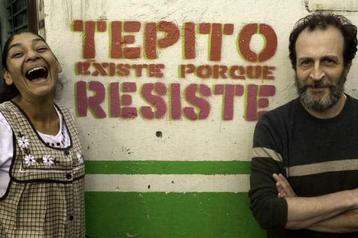 Lourdes Grobet y Daniel Gimenéz Cacho. Ciudad de México. Foto. Safari en Tepito 3