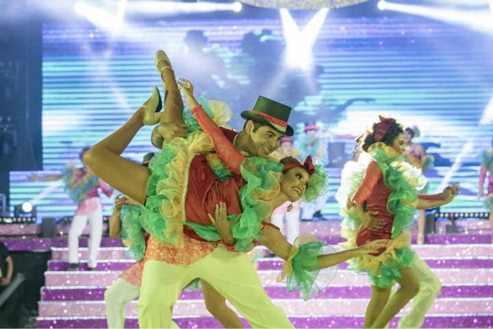 Muchas actividades en el Carnaval de Cozumel Isla del Tesoro Foto Noticaribe