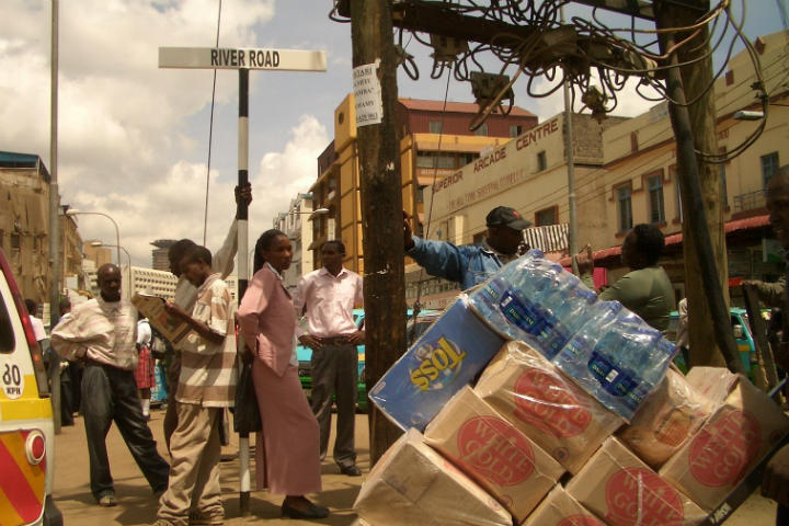 Ciudad de Nairobi, donde el recorrido empieza Foto por: Dave Koehn
