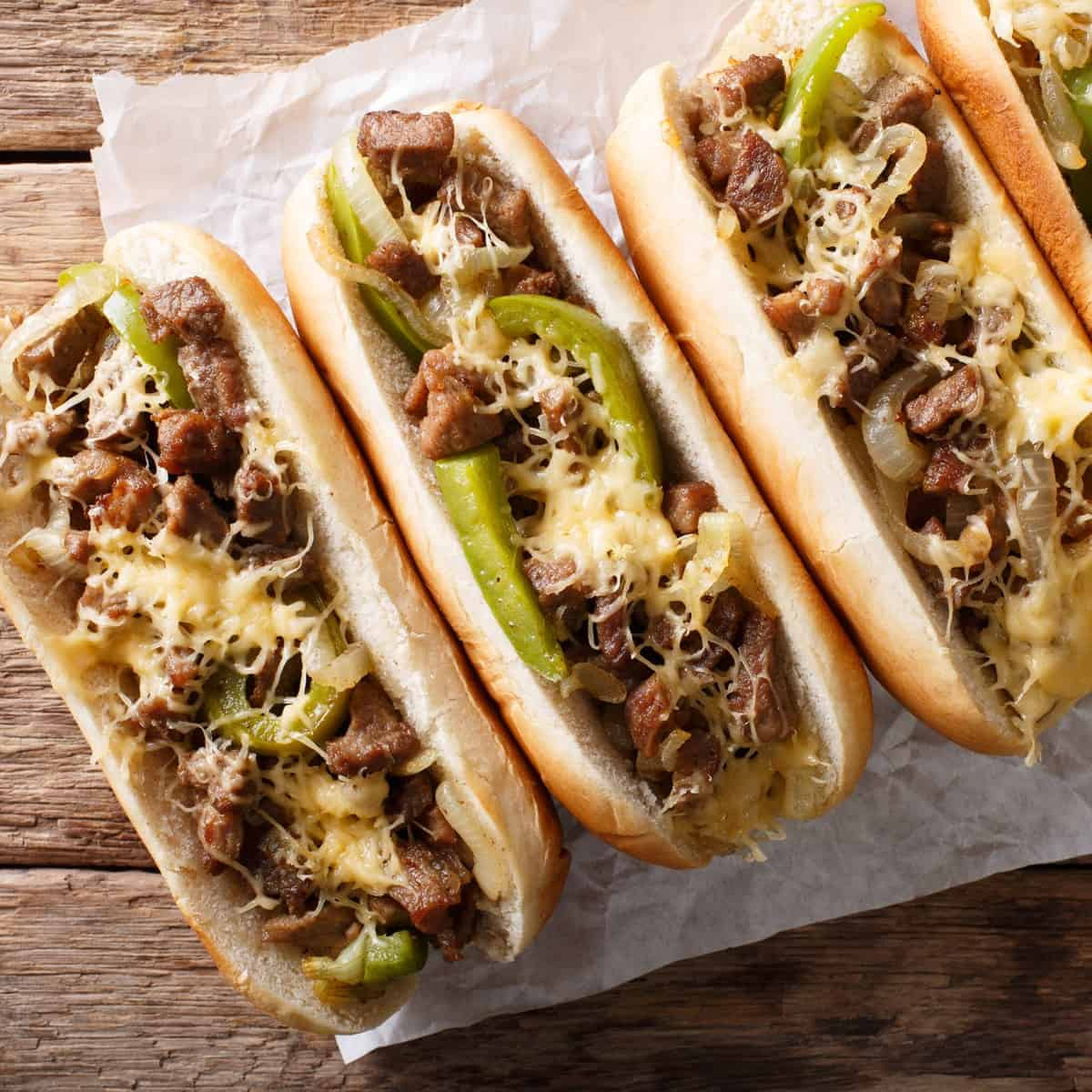 Cheesesteak. Foto National Today.