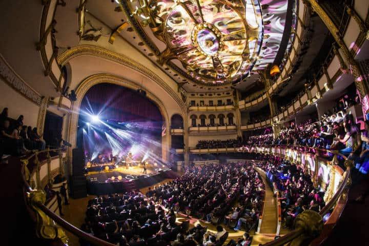 Palacio de Bellas Artes. Ciudad de México. Foto Festival del Centro Histórico 2
