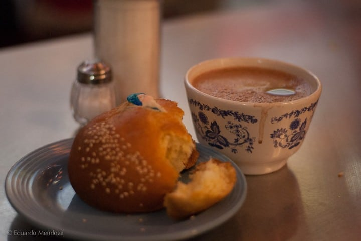 Pan de yema y chocolate. Foto: Eduardo Mendoza