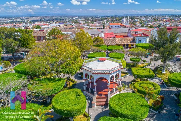 Parque Central Benito Juárez. Foto: El Sitio de Chiapas