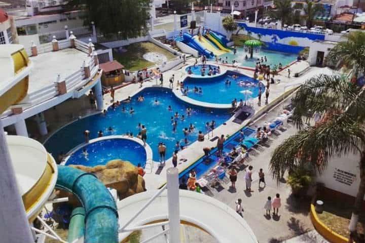 Parque acuatico. Ixtapan de la sal. Foto. Pagina oficial 1