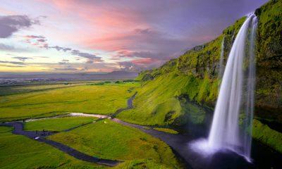 Portada Cascadas famosas. Islandia. Foto. Robert Lukeman 6
