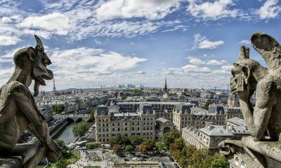Portada. Gárgolas en París. Notre Dame. Foto Zacarías Abad Torres 6