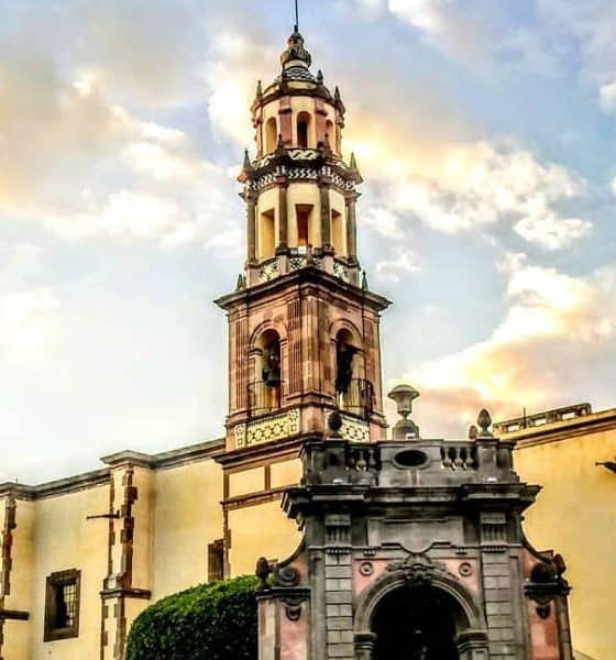 Portada. Iglesia de Santa Clara. Querétaro. Foto My Journey Magazine 3