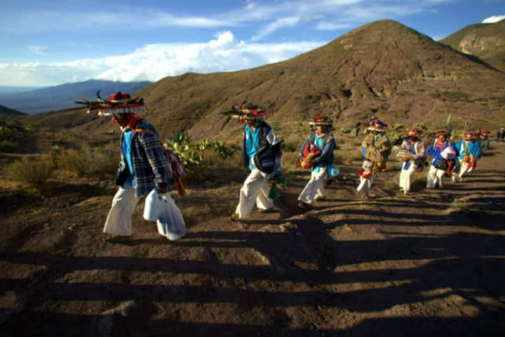 Procesión de los Huicholes Foto Archivo