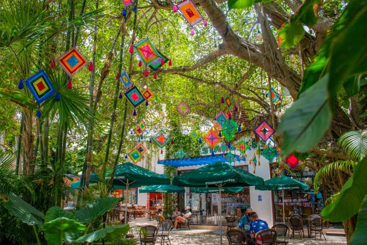 Quinta Avenida Playa del Carmen. Foto: Paseo Del Carmen Shopping Mall