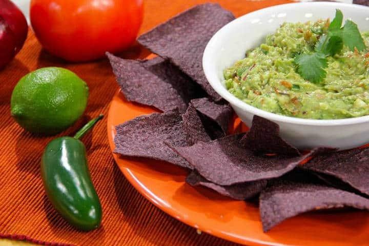 Receta del guacamole. Foto Chef James 5