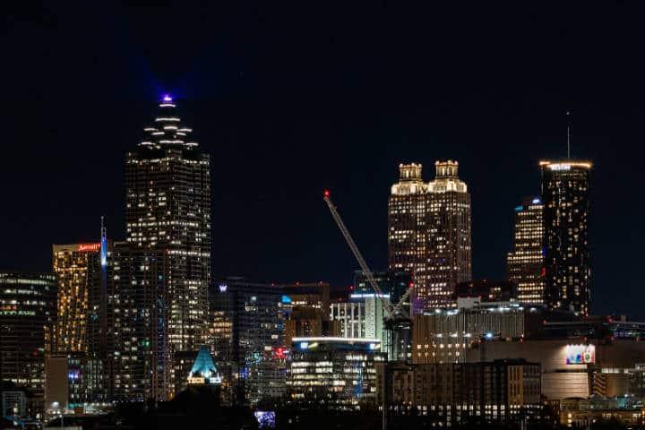 Vista de Atlanta. Foto Reddit.