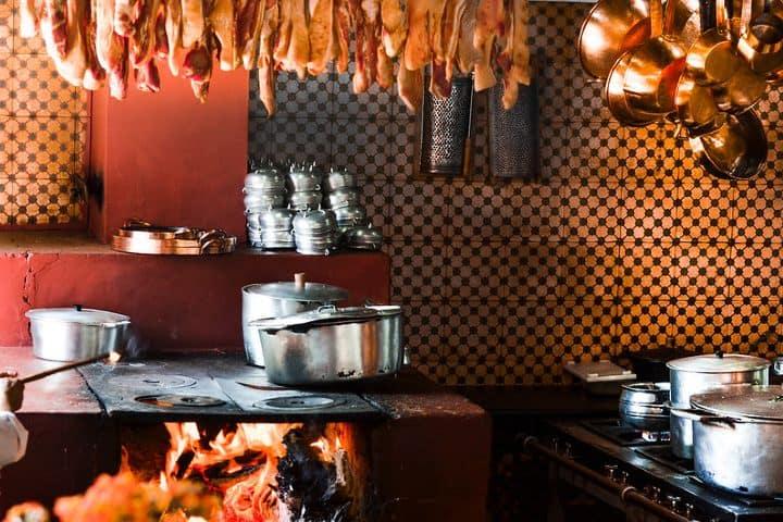 Restaurante Xapurí. Foto: Flávio Jota de Paula Cocina mineira de Brasil