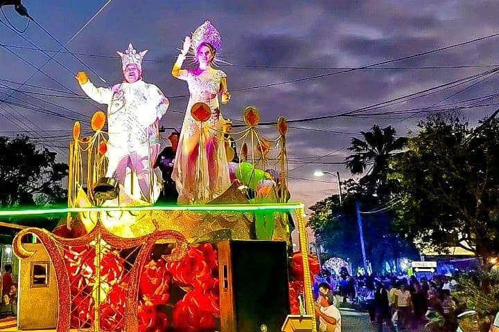 Rey y Reina de el Carnaval de Veracruz Foto Carnaval de Veracruz 2021