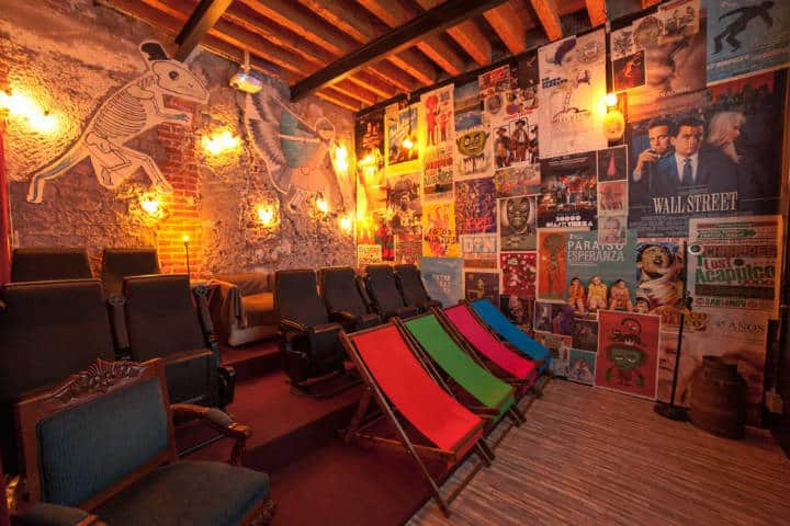 Sala de cine. Ciudad de México. Foto La Casa del Cine Mx 4