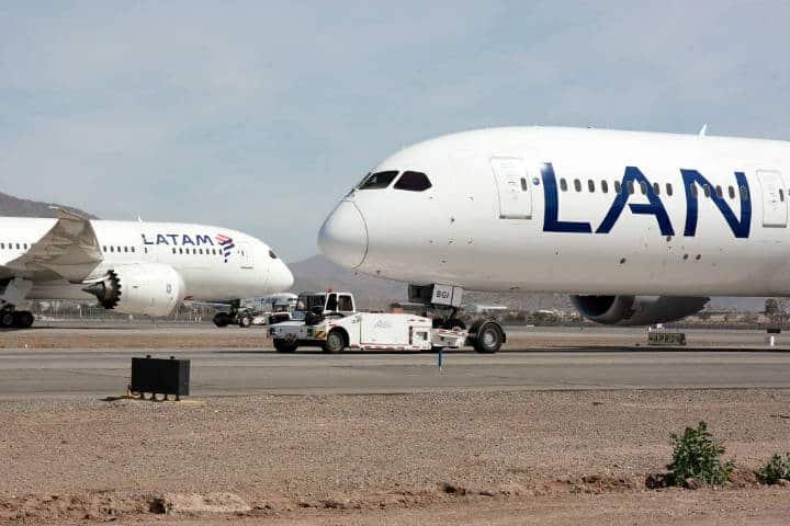 LAN Airlines. Foto Simple Flying.