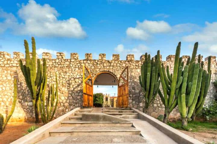 Entrada al museo El Fuerte Sinaloa. Foto Sinaloa 360.