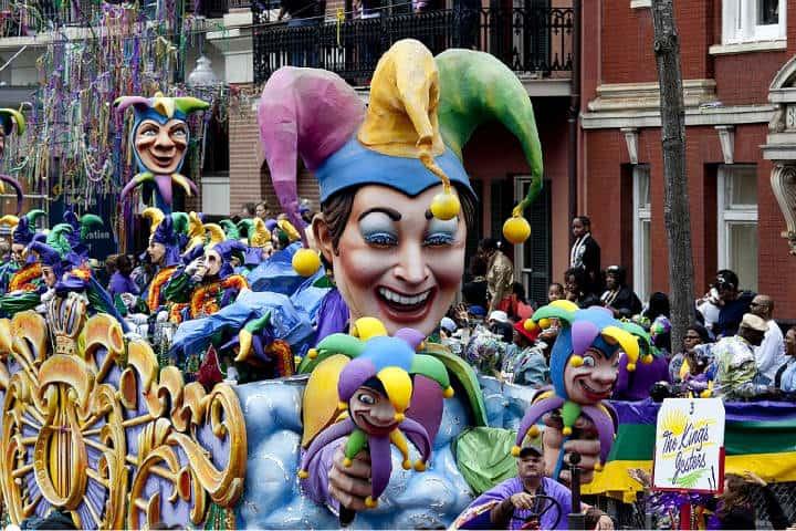 Carnaval en Nueva Orleans. Foto Skeeze en Pixabay.